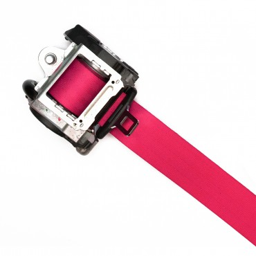 Pink Seat Belt