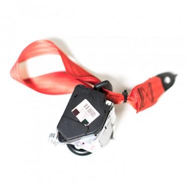 Red Seat Belt Webbing