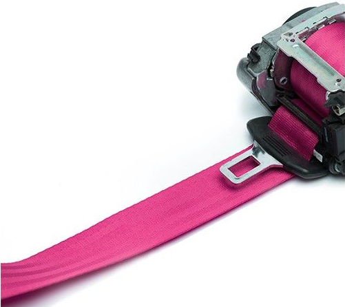 Pink Seat Belt Webbing Replacement Service